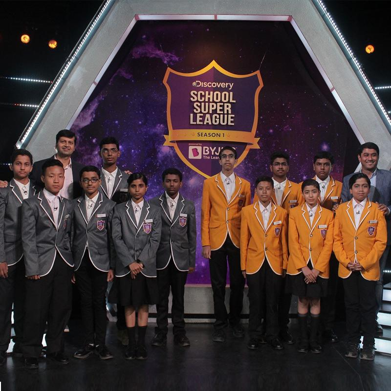 India's biggest ever integrated school quiz show 'DISCOVERY