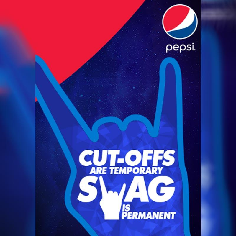 """Swag is permanent"""" says Pepsi® to college-goers"""" 