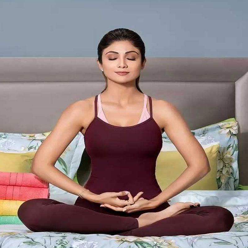 Shilpa Shetty launches a special meditation program | Indian Television Dot Com