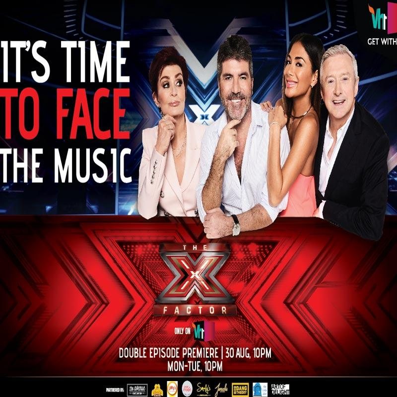 Vh1 To Air The Latest Season Of The X Factor UK In India