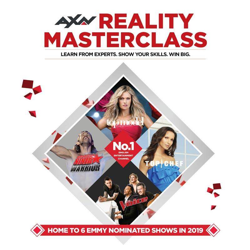 The most loved English entertainment channel, AXN, is also